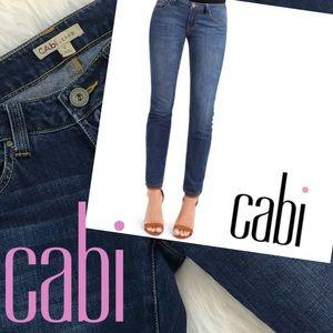 VGUC CAbi style 750 skinny jeans size 2